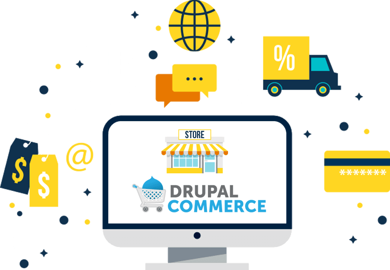 Drupal commerce store features